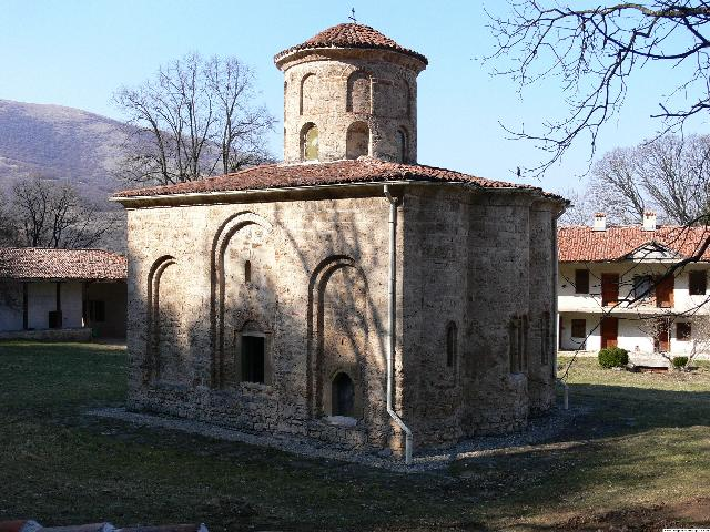 """St. John the Theologian"" monastery of Zemen"
