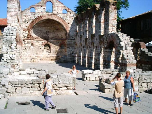 St. Sophia church (also known as the Old Metropolia) 5th - 6th c., Nessebar