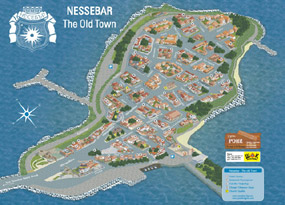 Map of Nessebar