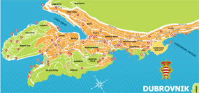 Dubrovnik - new town