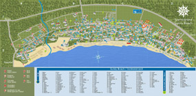 Map of Sunny beach